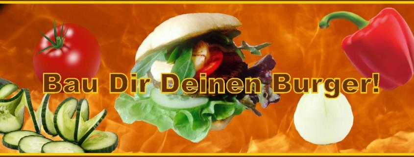 Burger selber bauen   Cafe Wirrwarr