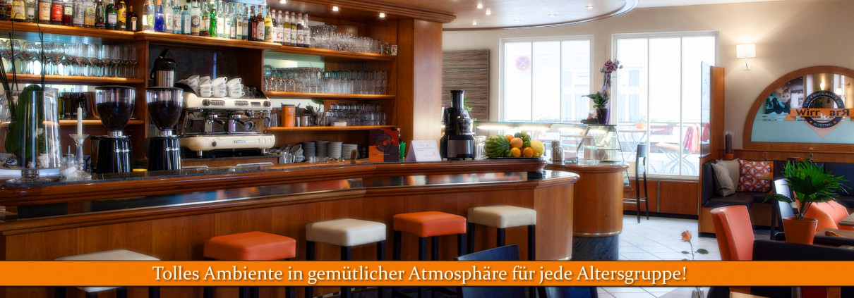 Räumlichkeiten | Restaurant & Cafe Wirrwarr | Altötting