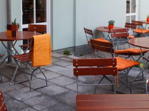 Terrasse | Aussen im Restaurant & Cafe Wirrwarr Altötting