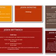 Blog Tages-Aktionen | Cafe und Restaurant Wirrwarr Altötting