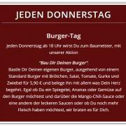 Jeden Donnerstag | Burger-Tag | Burger | Cafe Wirrwarr