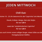 Jeden Mittwoch | Chill Out | Cocktail | Bar