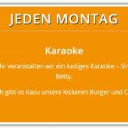 Jeden Montag | Karaoke | Aktionen im Cafe Wirrwarr
