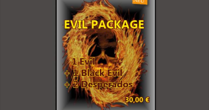Evil Package | 2 Burger, 2 Desperados