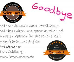 Goodbye | Essen gehen | Vilsbiburg